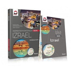 IZRAEL Inspirator Podróżniczy PRZEWODNIK PASCAL 2020