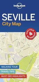 SEWILLA SEVILLE CityMap plan miasta LONELY PLANET 2018