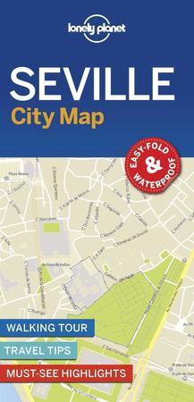 SEWILLA SEVILLE CityMap plan miasta LONELY PLANET 2018 (1)