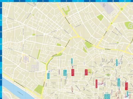 SEWILLA SEVILLE CityMap plan miasta LONELY PLANET 2018 (2)