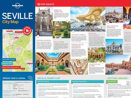 SEWILLA SEVILLE CityMap plan miasta LONELY PLANET 2018 (3)
