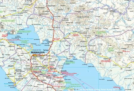 NIKARAGUA HONDURAS SALWADOR mapa 1:650 000 REISE KNOW HOW 2018 (2)