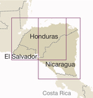 NIKARAGUA HONDURAS SALWADOR mapa 1:650 000 REISE KNOW HOW 2018 (3)