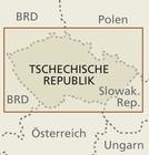 CZECHY, REPUBLIKA CZESKA mapa 1:350 000 RKH 2018 (3)