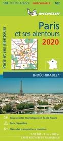 PARYŻ I OKOLICE 2020 mapa turystyczna 1:90 000 MICHELIN