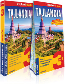 TAJLANDIA 3w1 przewodnik + atlas + mapa EXPRESSMAP 2020