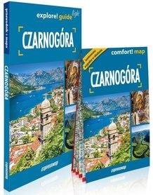 CZARNOGÓRA explore! guide LIGHT przewodnik z mapą EXPRESSMAP 2020