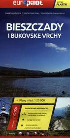 BIESZCZADY BUKOVSKE VRCHY laminowana mapa turystyczna 1:70 000 EuroPilot