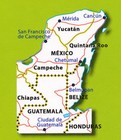 JUKATAN BELIZE GWATEMALA mapa 1:700 000 MICHELIN 2019 (2)