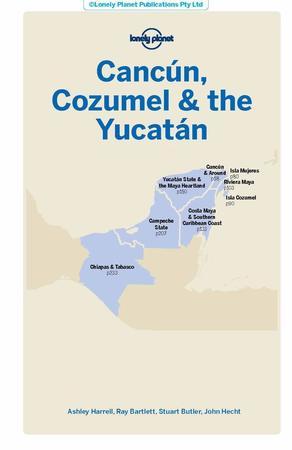CANCUN, COZUMEL & THE YUCATAN 6 przewodnik LONELY PLANET 2019 (2)
