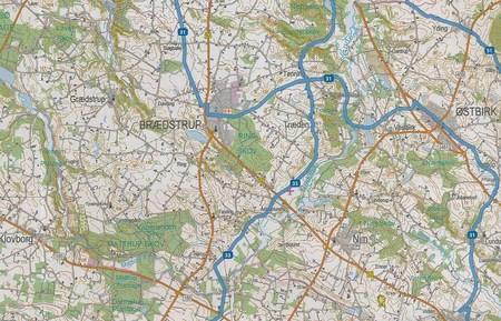 WSCHODNIA JUTLANDIA mapa rowerowa 1:100 000 SCANMAPS 2019 (3)