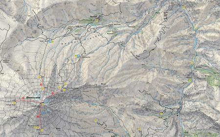 DEMAWEND mapa trekingowa 1:50 000 CLIMBING-MAP (3)