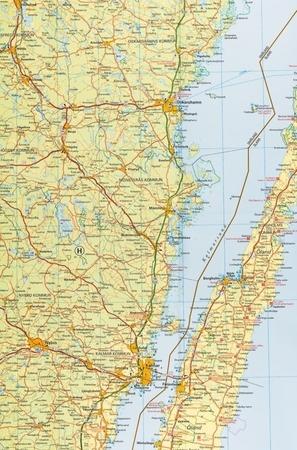SZWECJA PÓŁNOCNA (Południe)  mapa 1:400 000 Kummerly + Frey (5)