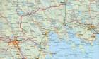 SZWECJA PÓŁNOCNA (Południe)  mapa 1:400 000 Kummerly + Frey (3)
