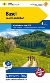 04 - Basel-Aarau / Basel-Landschaft  wodoodporna mapa turystyczna 1:60 000 Kummerly + Frey