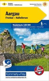 05 - Aargau Fricktal - Hallwilersee wodoodporna mapa turystyczna 1:60 000 Kummerly + Frey