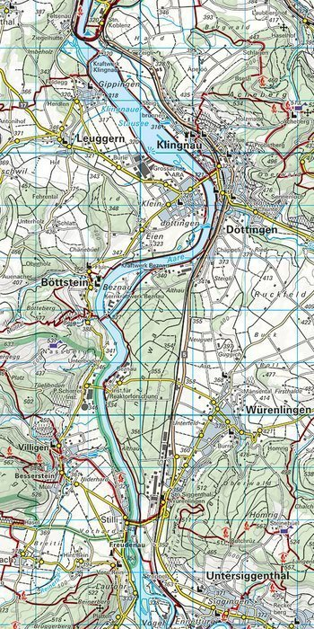06 - Zürich Zurich wodoodporna mapa turystyczna 1:60 000 Kummerly + Frey (3)