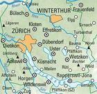06 - Zürich Zurich wodoodporna mapa turystyczna 1:60 000 Kummerly + Frey (4)