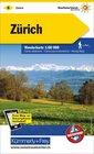 06 - Zürich Zurich wodoodporna mapa turystyczna 1:60 000 Kummerly + Frey (1)