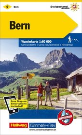 09 - Bern wodoodporna mapa turystyczna 1:60 000 Kummerly + Frey