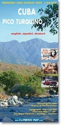 Cuba - Pico Turquino mapa trekingowa 1:50 000 CLIMBING-MAP