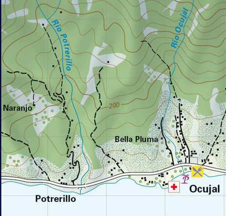 Cuba - Pico Turquino mapa trekingowa 1:50 000 CLIMBING-MAP (2)
