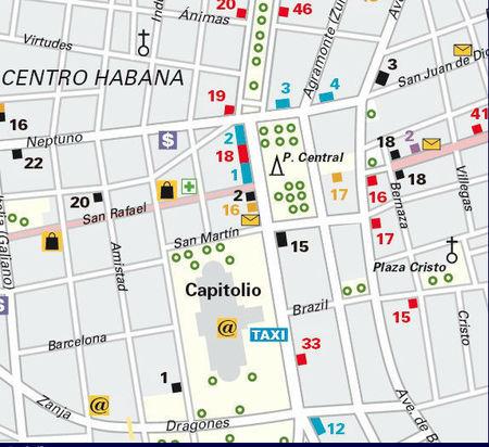 Cuba - Pico Turquino mapa trekingowa 1:50 000 CLIMBING-MAP (4)