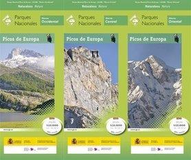 Picos de Europa NP 3 mapy + przewodnik CNIG