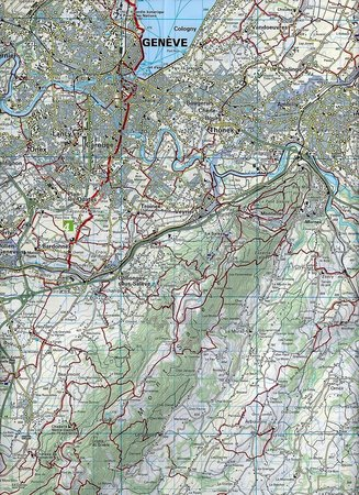 28 - Upper Engadine wodoodporna mapa turystyczna 1:60 000 Kummerly + Frey (2)