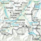 28 - Upper Engadine wodoodporna mapa turystyczna 1:60 000 Kummerly + Frey (4)