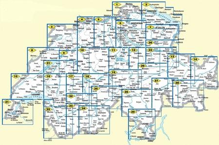 30 - Sarganserland wodoodporna mapa turystyczna 1:60 000 Kummerly + Frey (3)