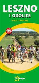LESZNO I OKOLICE turystyczna mapa rowerowa 1:60 000 TOPMAPA