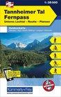 05 Tannheimer Tal - Fernpass laminowana mapa turystyczna 1:35 000 KUMMERLY + FREY (1)
