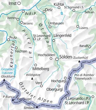 06 Otztal laminowana mapa turystyczna 1:35 000 KUMMERLY + FREY (3)