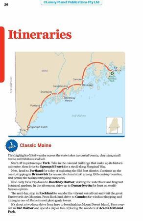MAINE, ACADIA NP przewodnik LONELY PLANET 2019 (6)