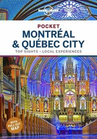 MONTREAL I QUEBECK CITY przewodnik POCKET LONELY PLANET 2020
