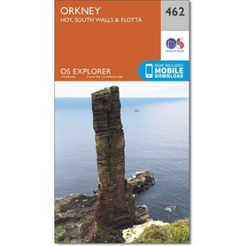ORKANY Hoi / South Walls / Flotta mapa 1:25 000 ORDNANCE SURVEY