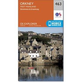 ORKANY West Mainland mapa 1:25 000 ORDNANCE SURVEY