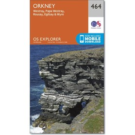 ORKANY Westray mapa 1:25 000 ORDNANCE SURVEY