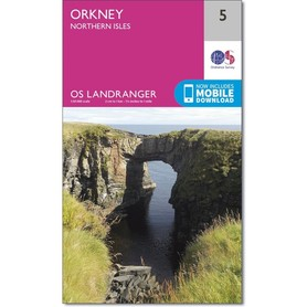 ORKANY Orkney - Northern Isles mapa 1:50 000 ORDNANCE SURVEY