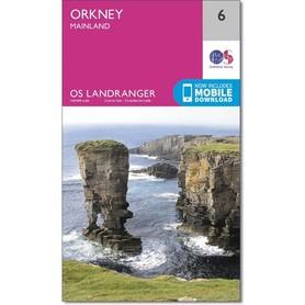 ORKANY Orkney - Mainland mapa 1:50 000 ORDNANCE SURVEY