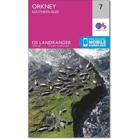ORKANY Orkney - Southern Isles mapa 1:50 000 ORDNANCE SURVEY