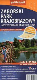 WDZYDZKI I ZABORSKI PARK KRAJOBRAZOWY wodoodporna mapa turystyczna 1:25 000 STUDIO PLAN
