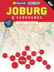 JHANNESBURG JOBURG przewodnik MAPSTUDIO 2020