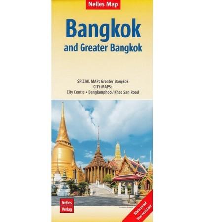 BANGKOK wodoodporny plan miasta 1:15 000 / 1:75 000 NELLES 2020 (1)