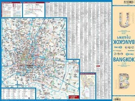 BANGKOK plan miasta laminowany 1:14 000 BORCH 2019 (3)