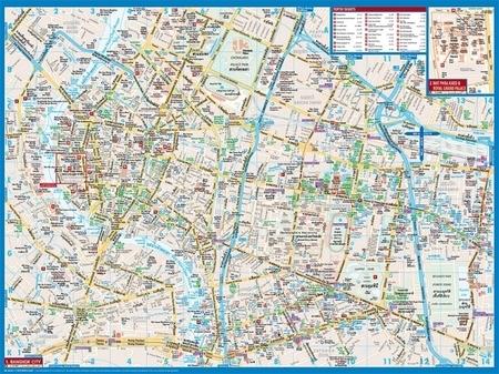 BANGKOK plan miasta laminowany 1:14 000 BORCH 2019 (4)