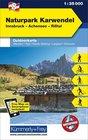 08 Naturpark Karwendel laminowana mapa turystyczna 1:35 000 KUMMERLY + FREY (1)
