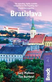 BRATYSŁAWA 4 przewodnik turystyczny BRADT 2020