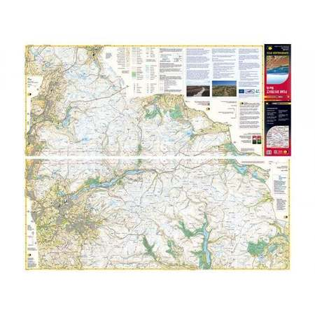 PEAK DISTRICT NORTH mapa wodoodporna 1:25 000 HARVEY (2)